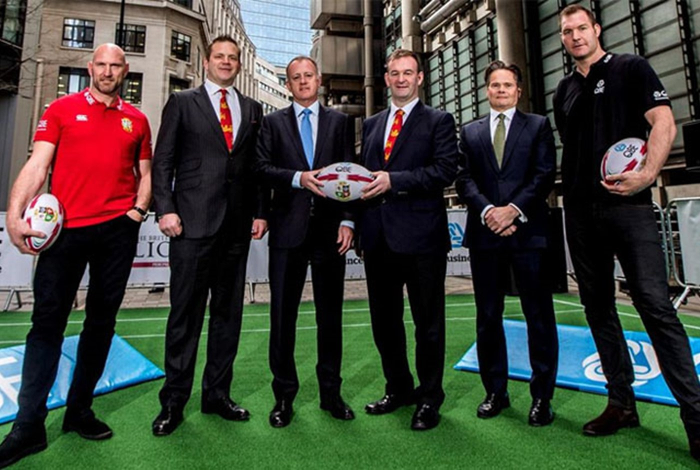 QBE announces British Irish Lions sponsorship