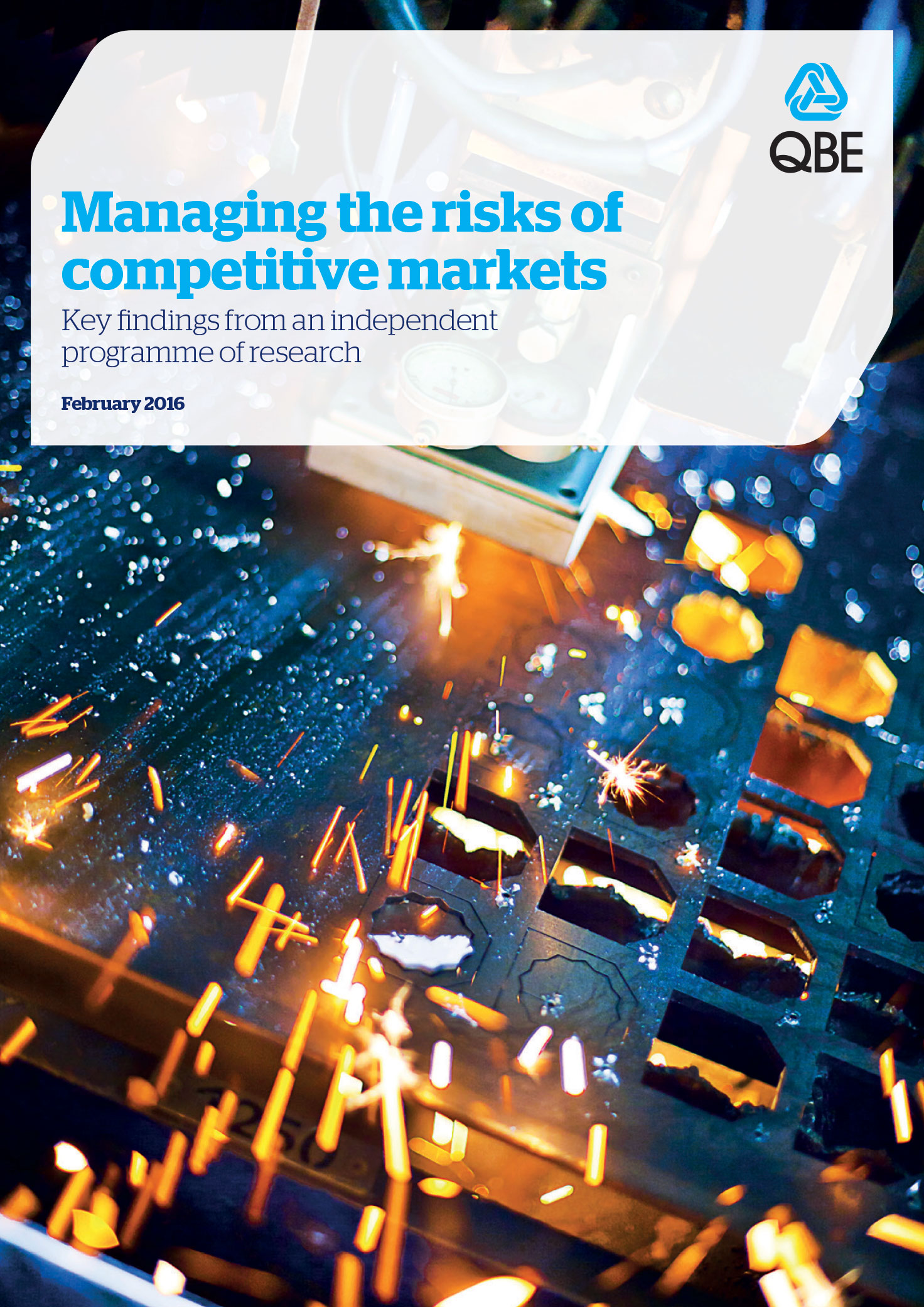 Managing the risks of competitive markets (PDF 5.8Mb)