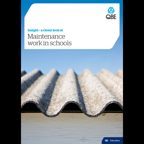 Maintenance in schools (PDF 2.4Mb)