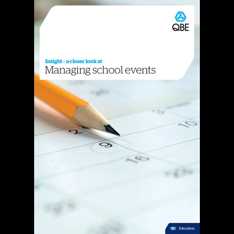Managing school events (PDF 2.6Mb)