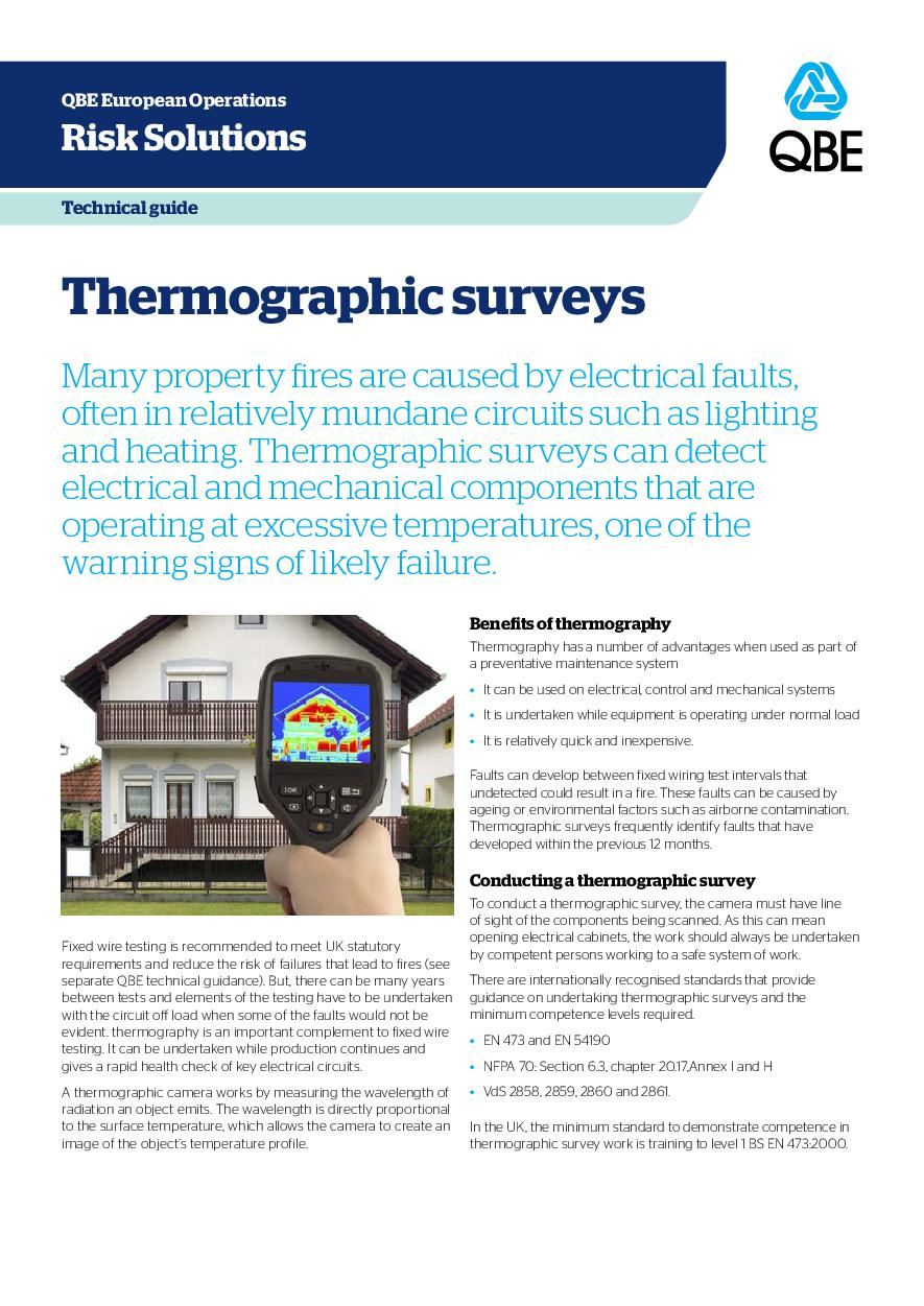 Thermographic surveys (PDF 811Kb)