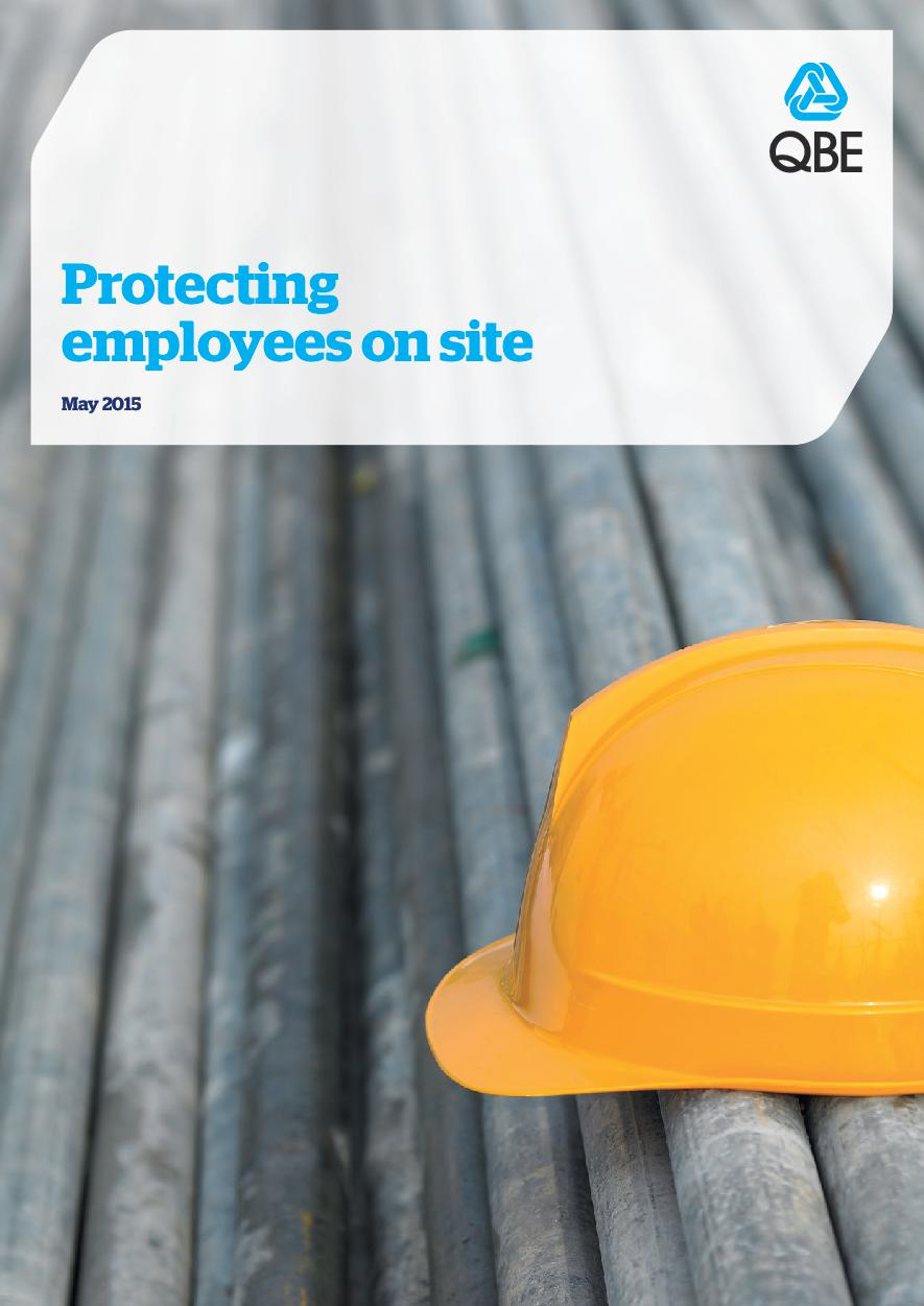 Protecting employees on site (PDF 6.6Mb)