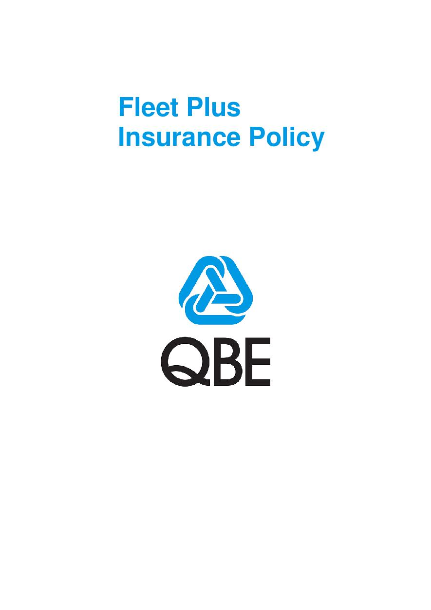 ARCHIVE - PMFP020714 Fleet Plus Insurance Policy