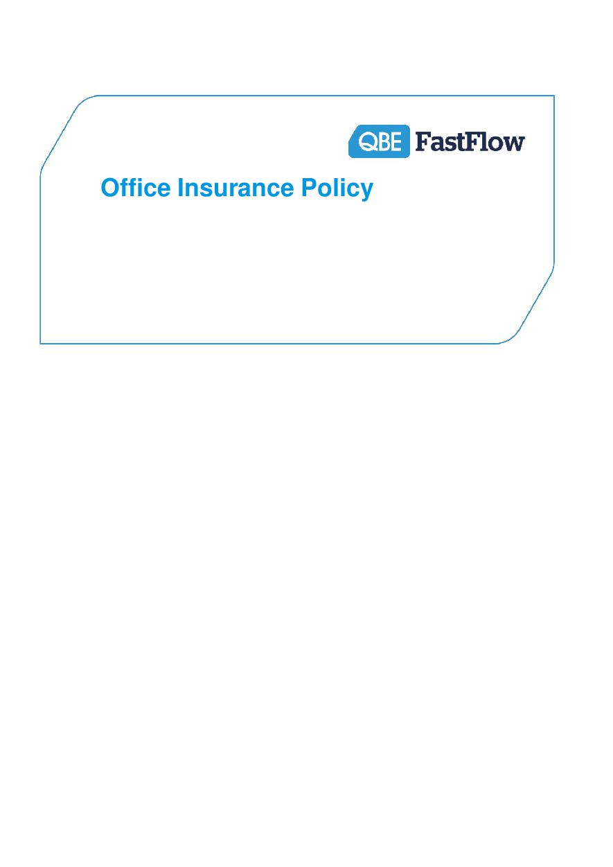 ARCHIVE - POFF130515 Office Insurance Policy