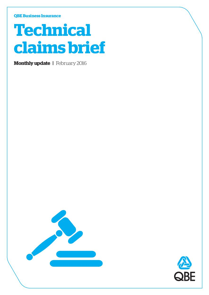 Technical Claims Brief - February 2016 (PDF 1.9Mb)