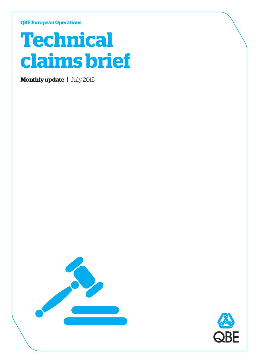 Technical Claims Brief - July 2015 (PDF 2.9Mb)