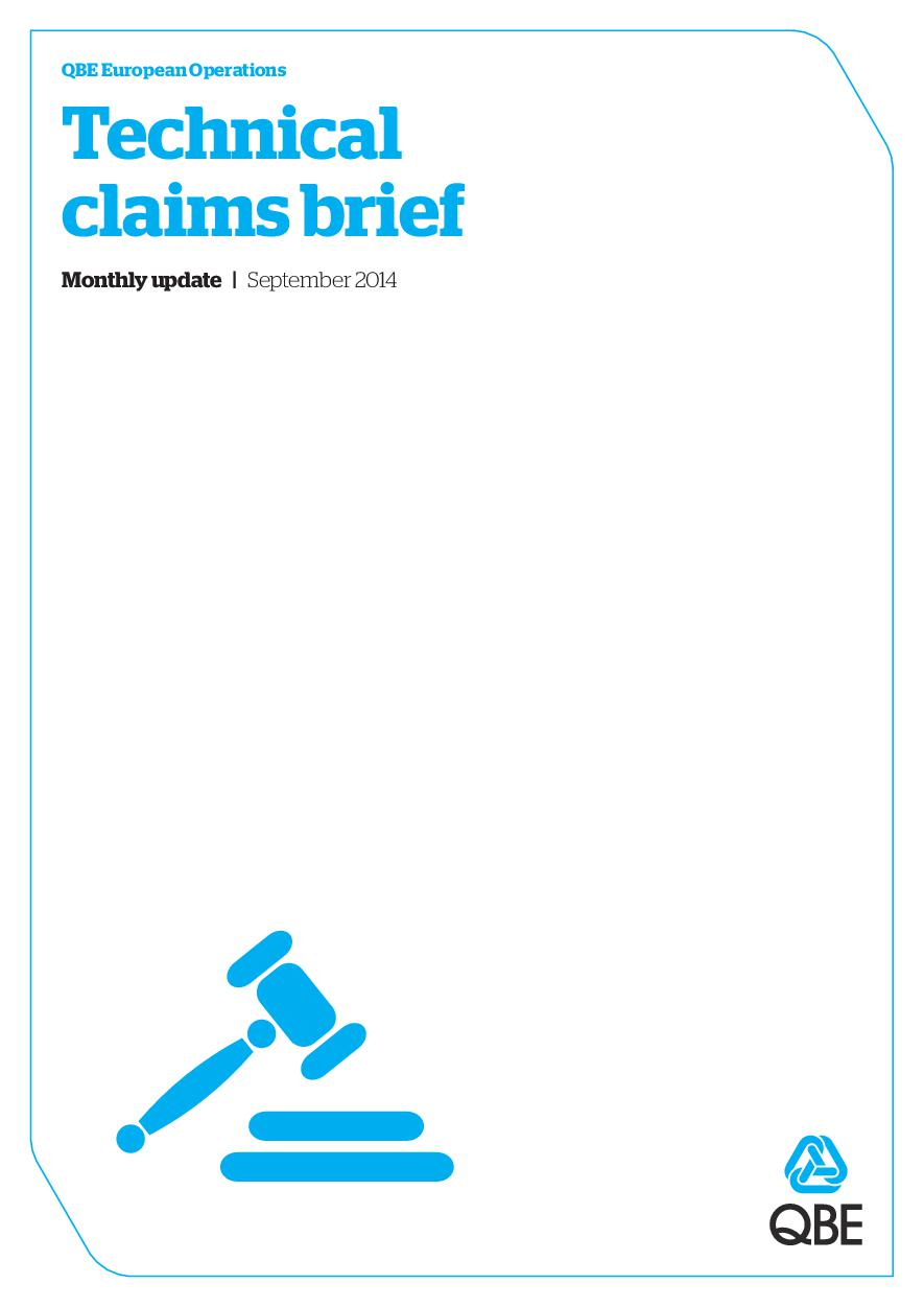 Technical Claims Brief - September 2014 (PDF 5.7Mb)