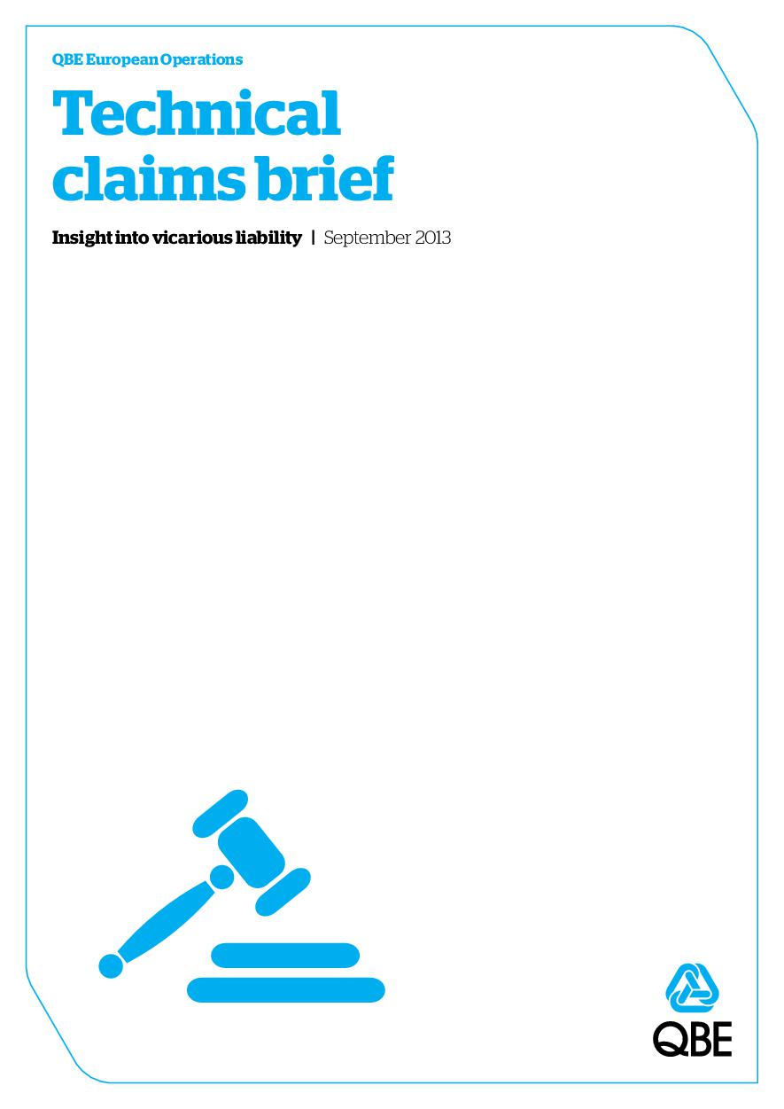 Technical Claims Brief - September 2013 (PDF 1.1Mb)