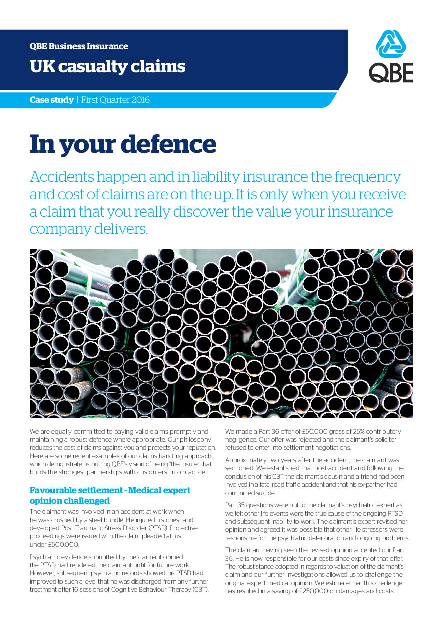 In Your Defence - Q1 2016 (PDF 2.1Mb)