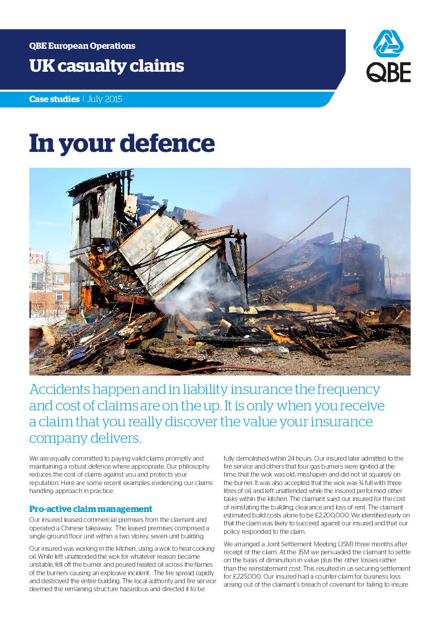 In Your Defence - July 2015 (PDF 734Kb)