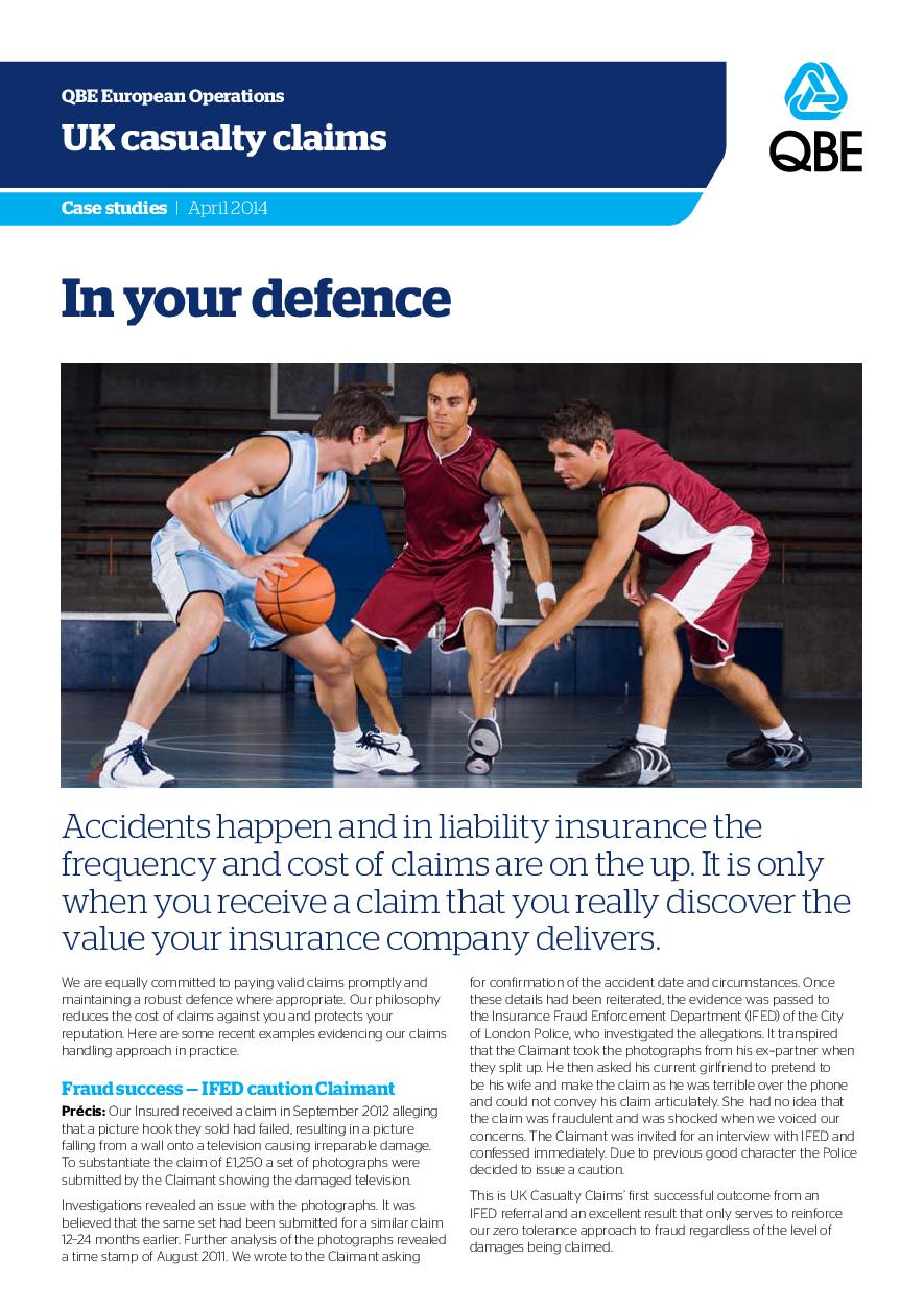 In Your Defence - April 2014 (PDF 348Kb)