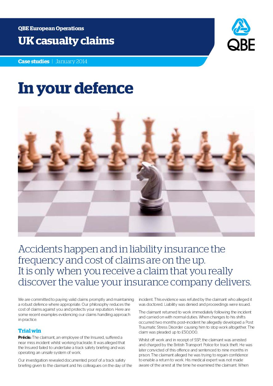 In Your Defence - January 2014 (235Kb)