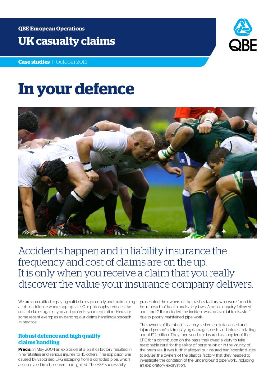 In Your Defence - October 2013 (PDF 281Kb)