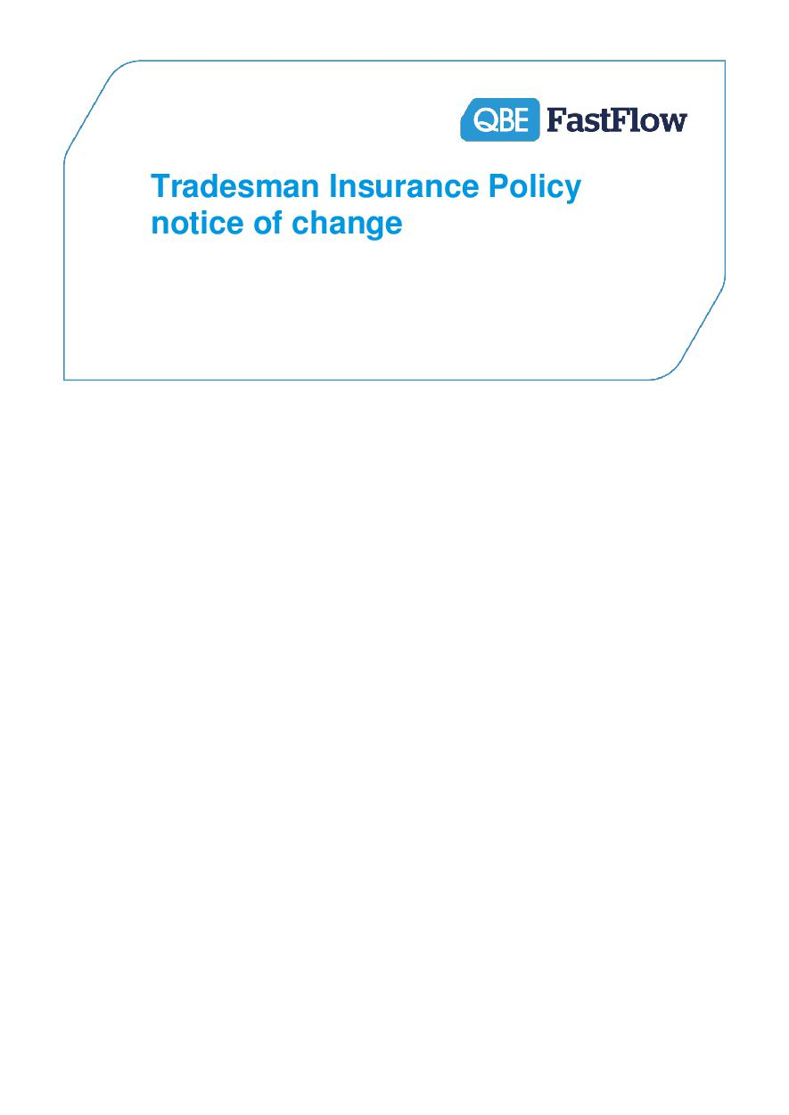 NTRA060915 FastFlow Tradesman Notice of change (PDF 111Kb)