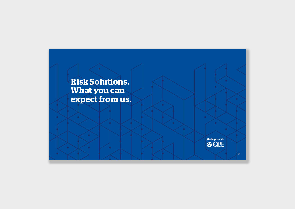 Our approach to risk managment
