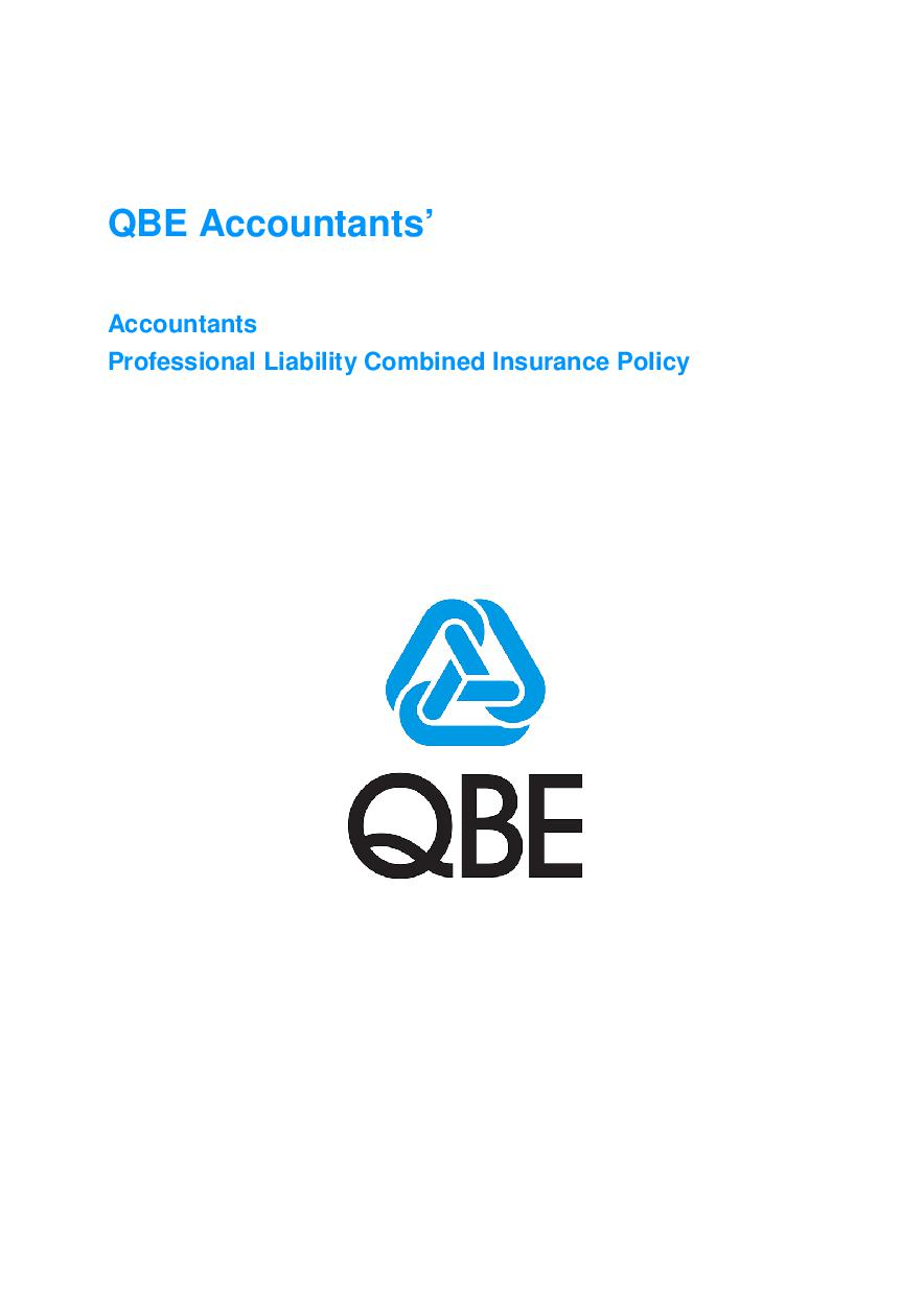 ARCHIVE - JPB020113 Accountants' Professional Combined Policy