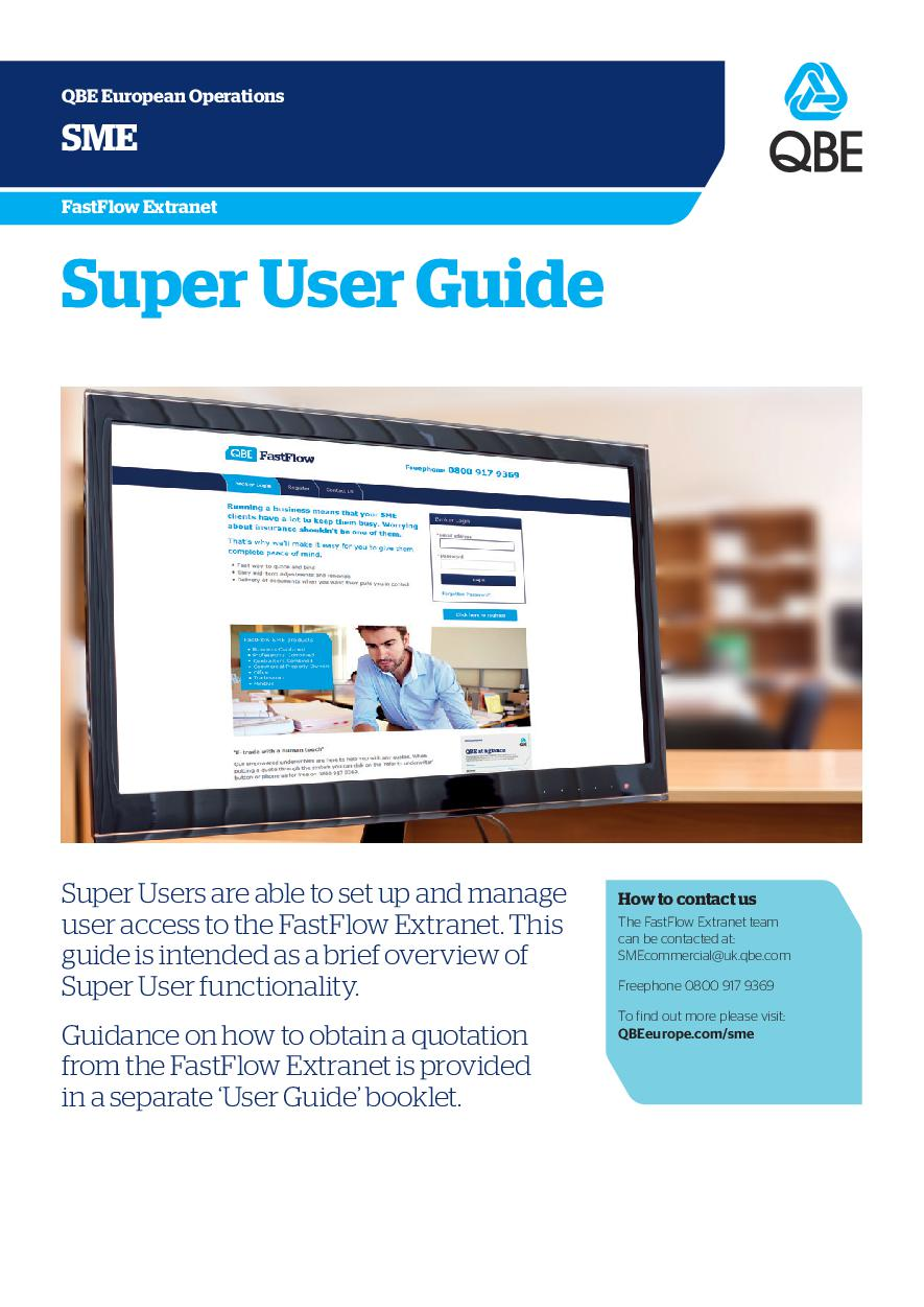 QBE FastFlow Super User Guide (PDF 626Kb)