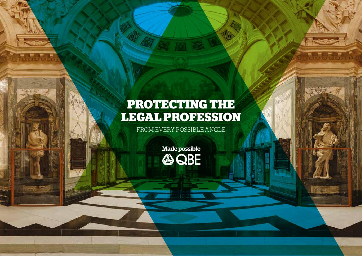 Protecting the legal profession (PDF 778Kb)