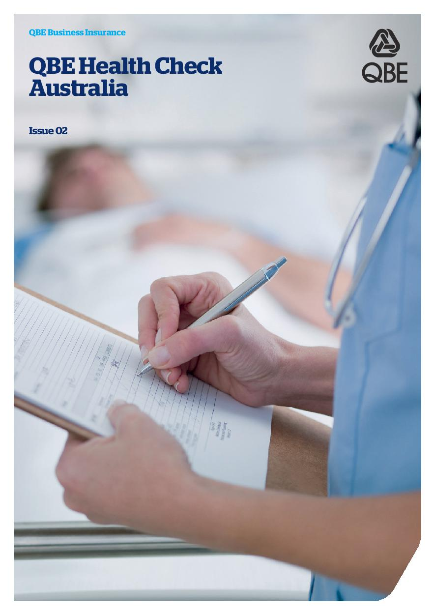 QBE Health Check Australia - Issue 2 (PDF 2.09Mb)
