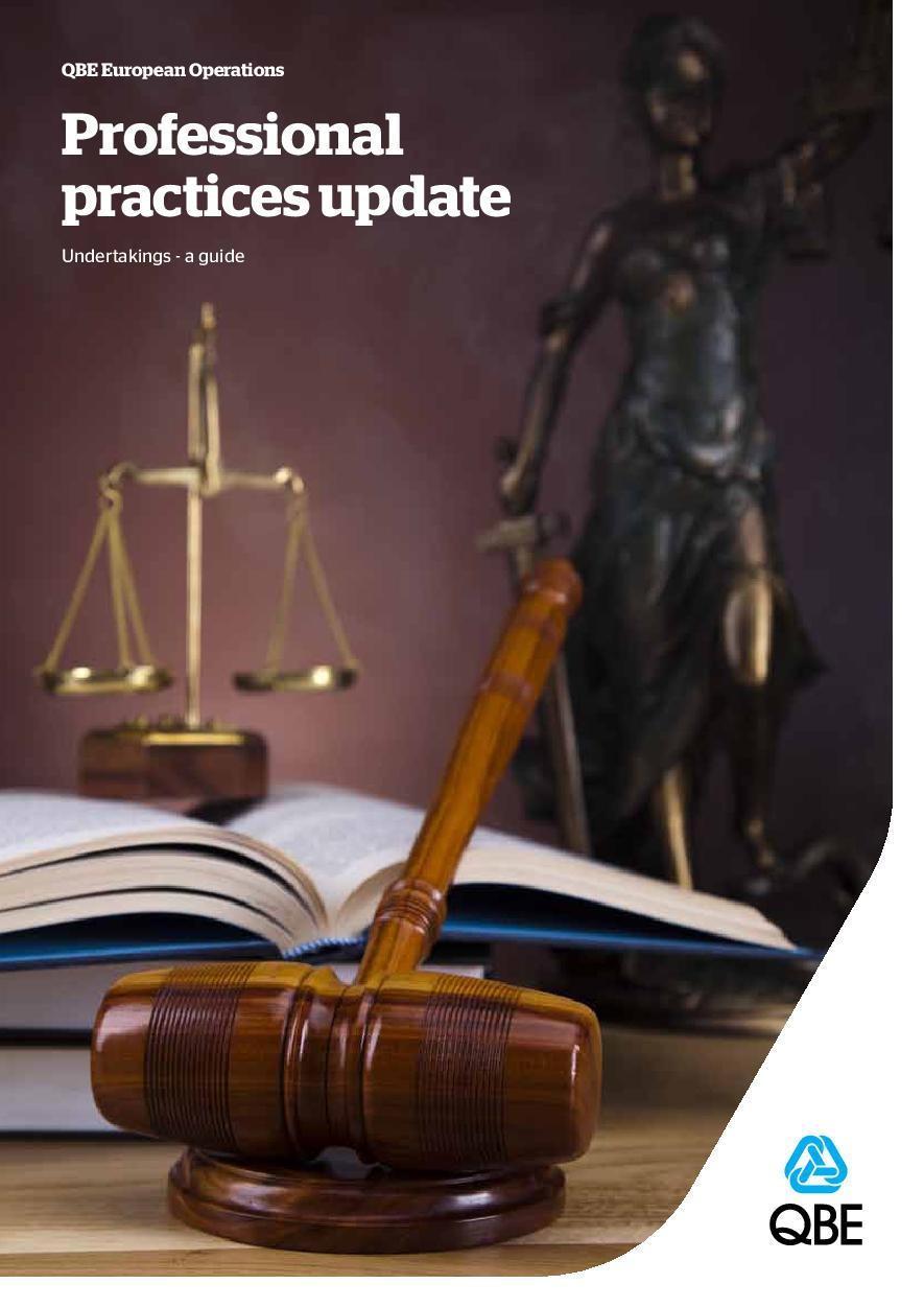 E&W Solicitors - Undertakings - A Guide