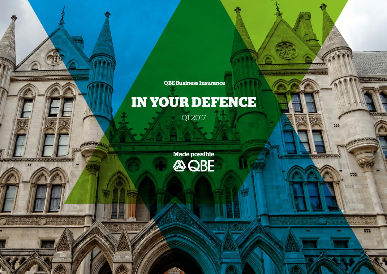 In Your Defence - Q1 2017 (PDF 1.67MB)