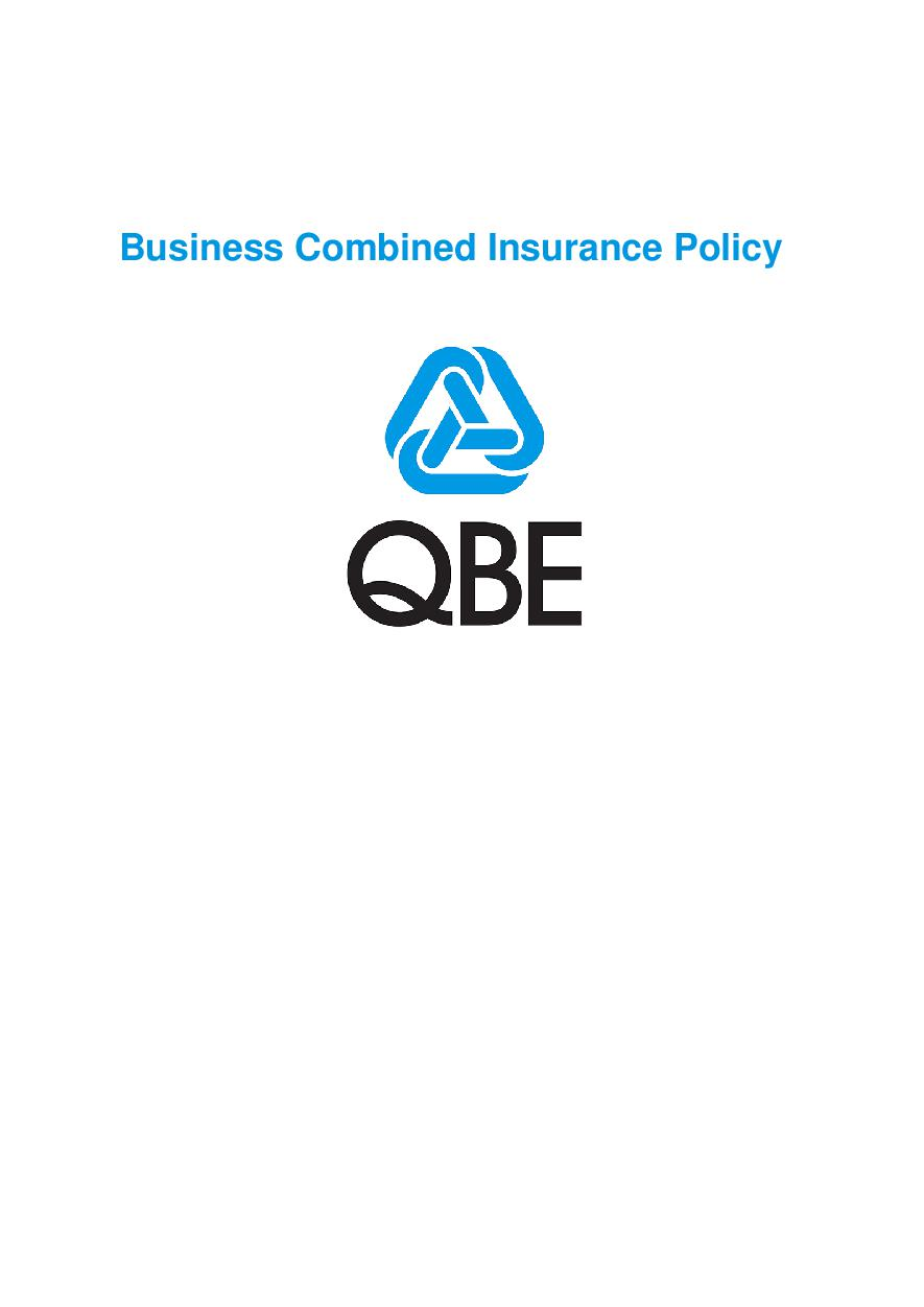 ARCHIVE - PBCP070418 Business Combined Policy