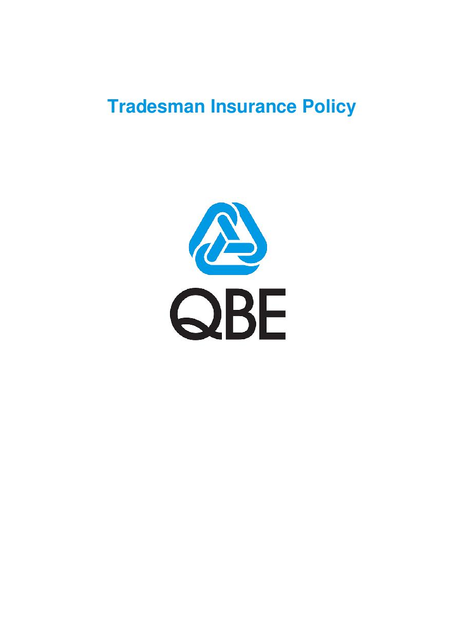 PTRA250518 Tradesman Insurance Policy Imarket
