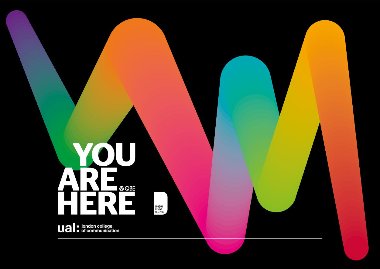 You Are Here - Exhibition Brochure