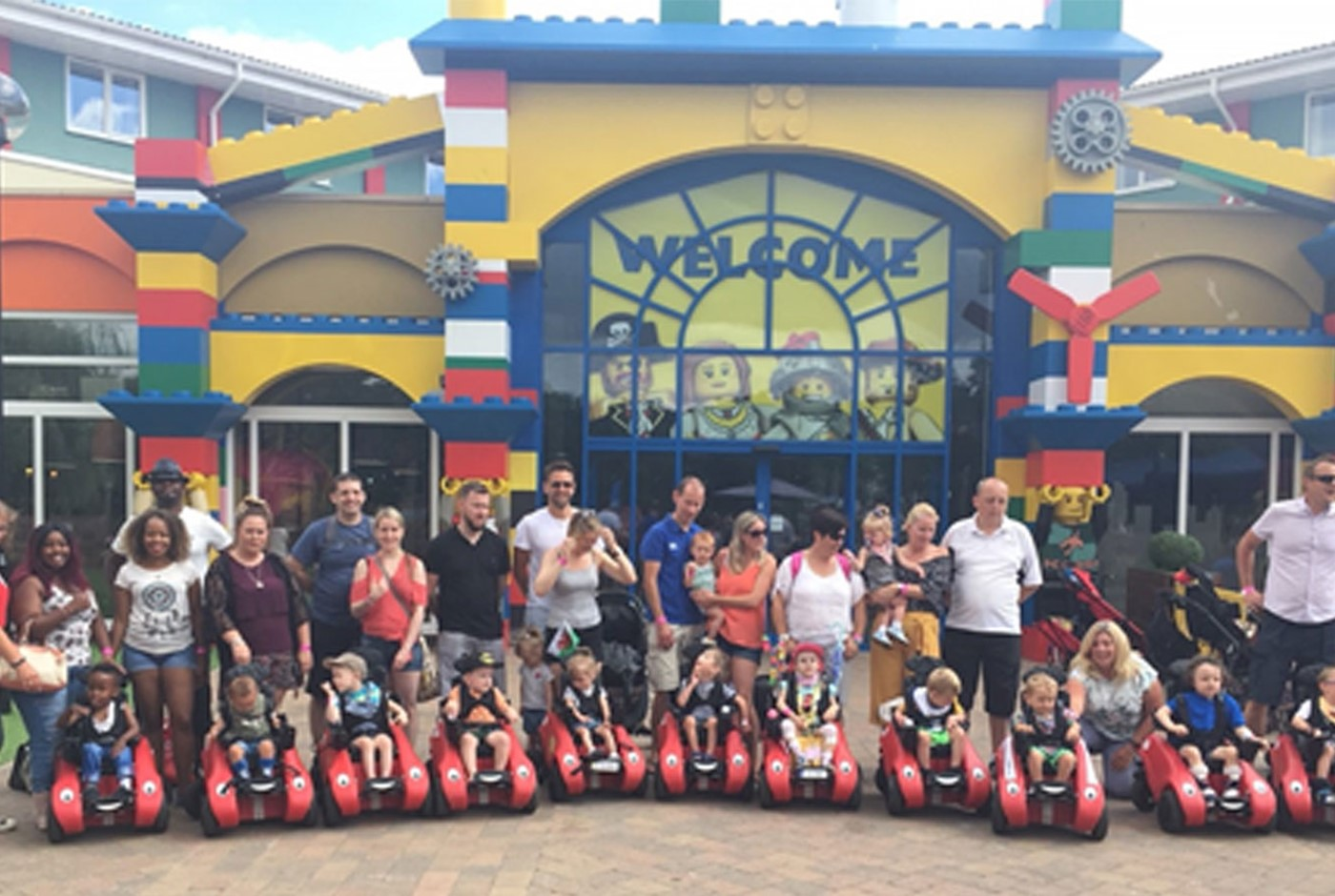 Whizzybugs help under 5's to explore Legoland
