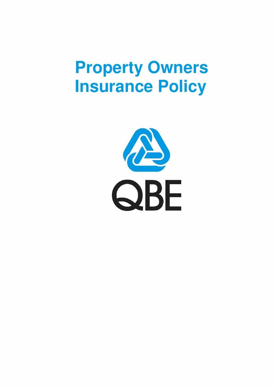 PPOF010119 Property Owners Insurance