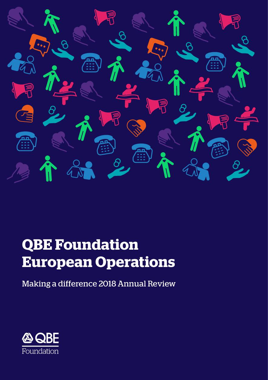 QBE Foundation 2018 Annual Review