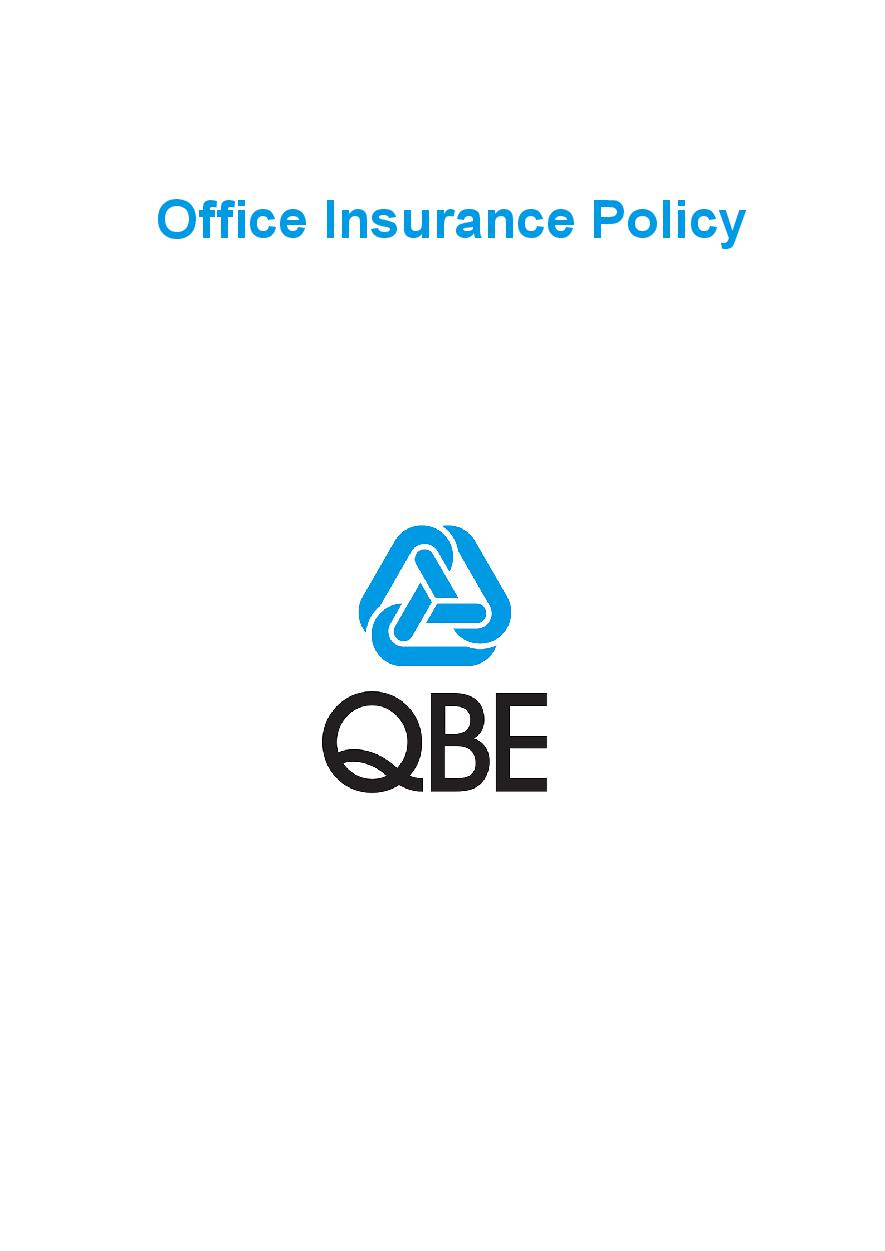 POFP030819 Office Insurance Policy