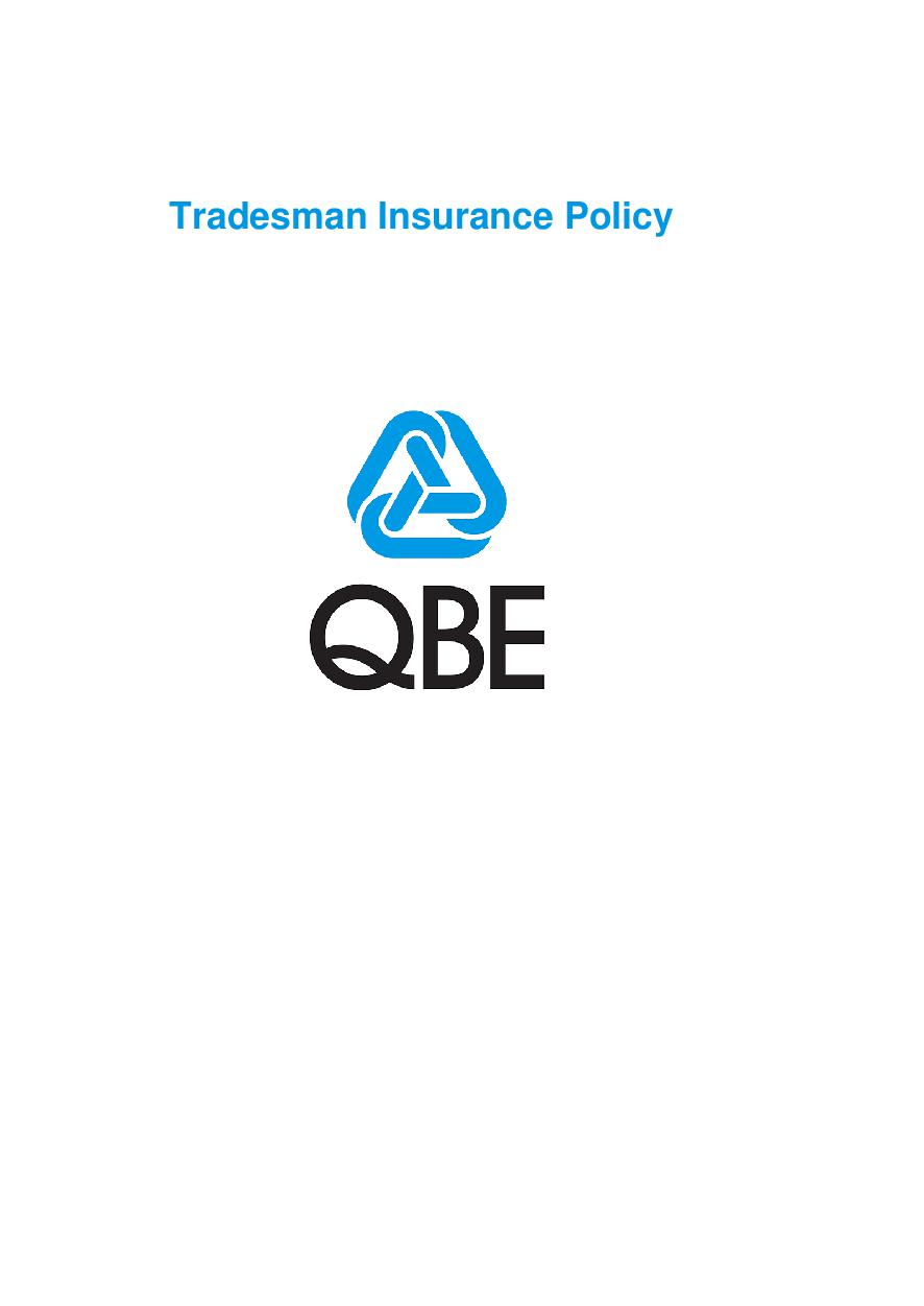 PTRA120620 Tradesman Insurance Policy (Imarket)
