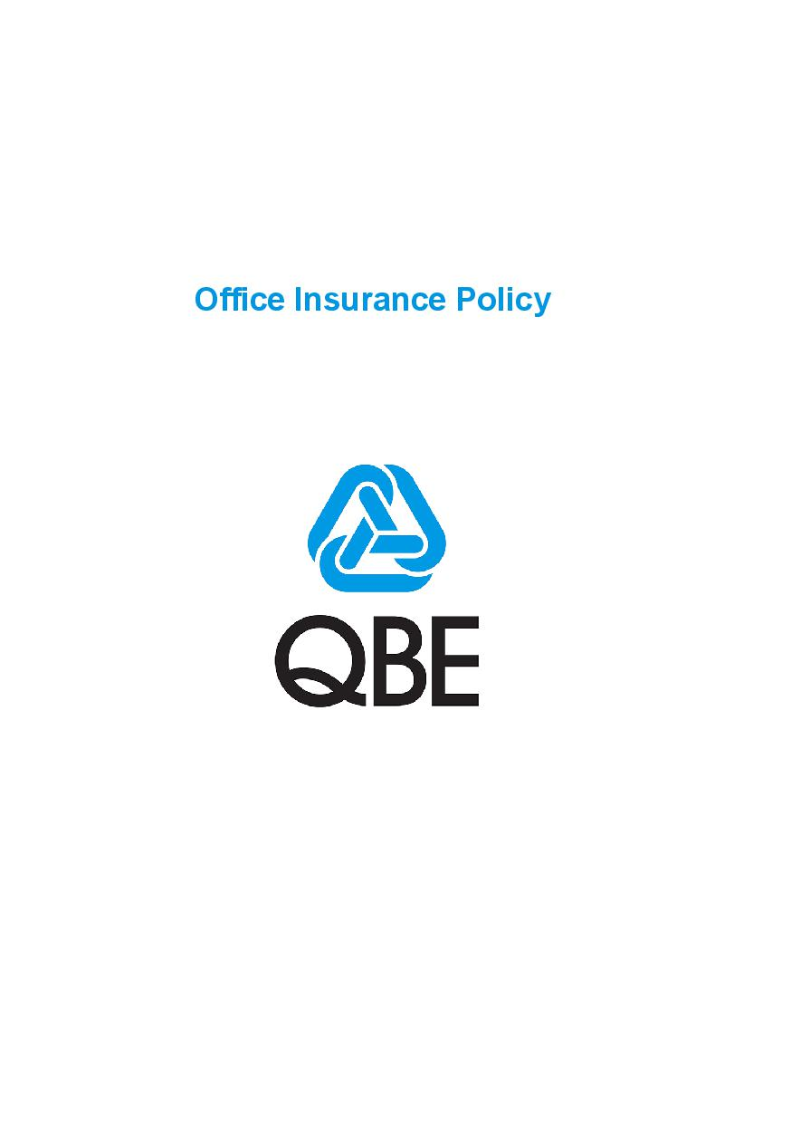 POFF180120 Office Insurance Policy