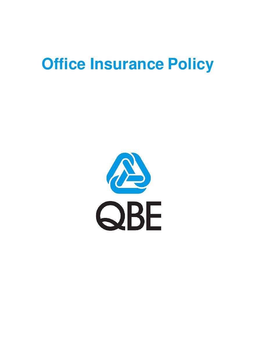POFF201120 Office Insurance Policy