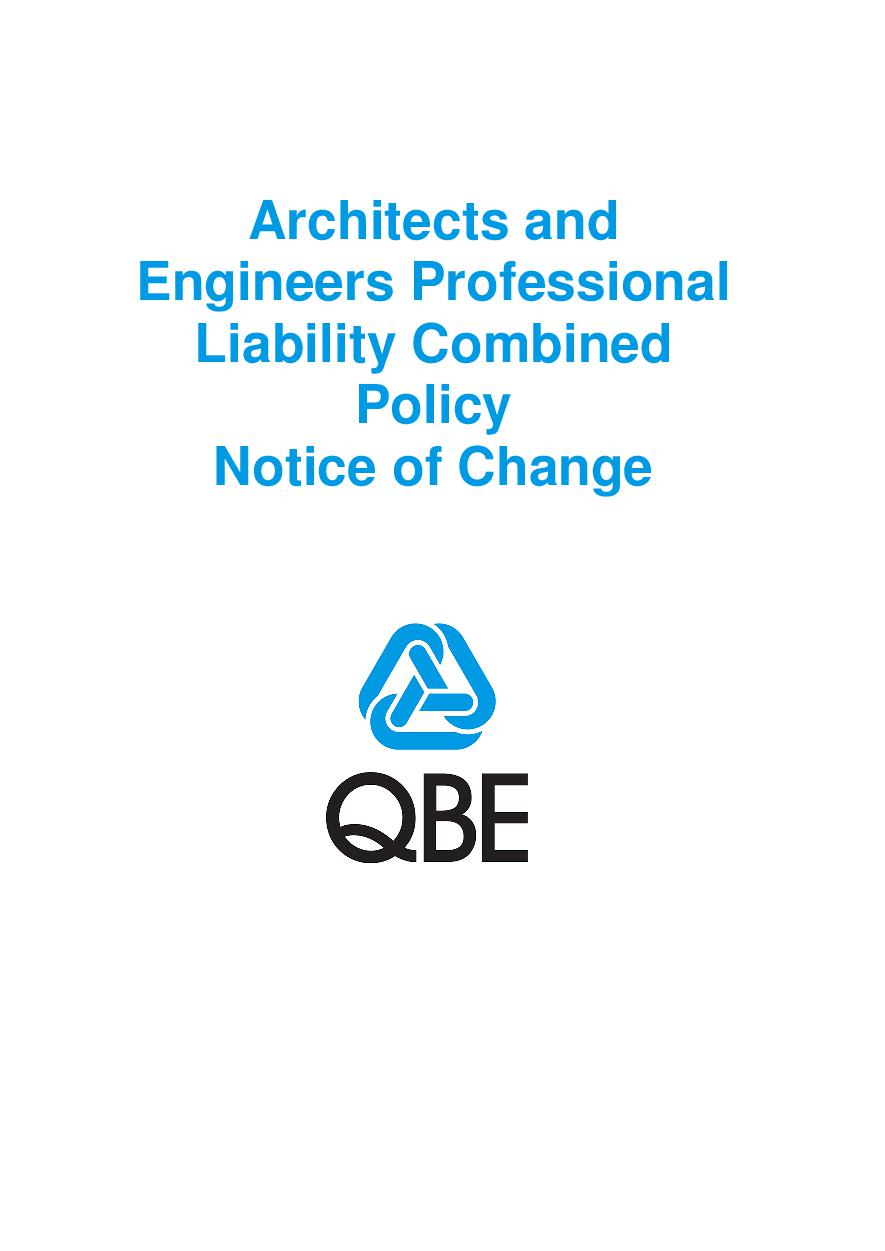 NJAR060121 Architects & Engineers PI Combined Notice of Change